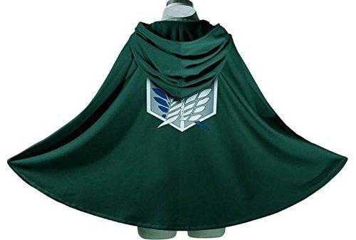 Japan Anime Shingeki No Kyojin Cloak Attack on Titan Cosplay Cloth Large
