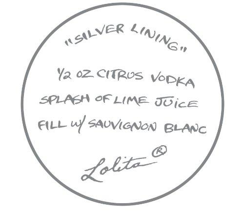 Lolita Silver Lining Wine Glass