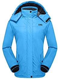 ZSHOW Women's Waterproof Ski Jacket Windproof Insulated Fleece Jacket