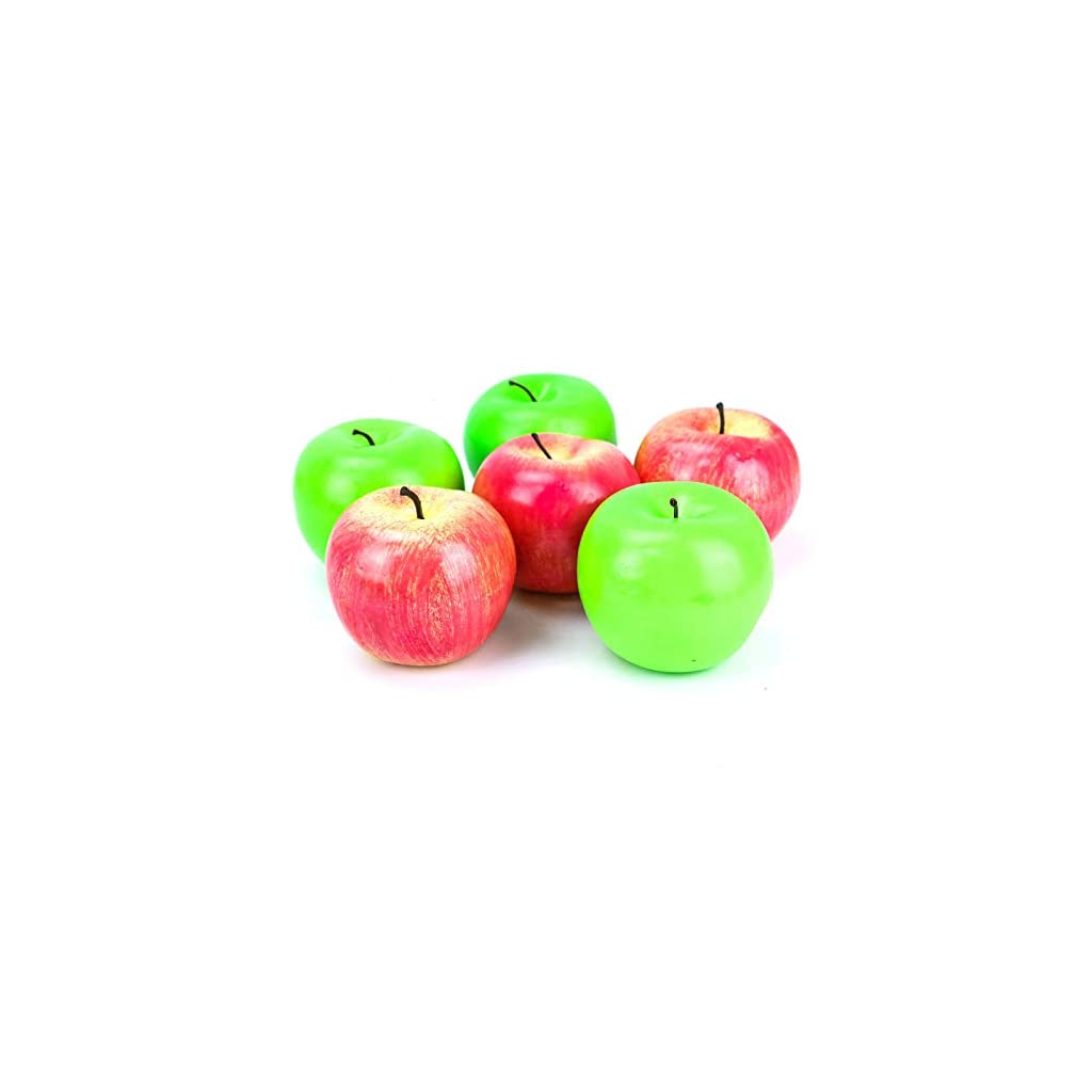 AQUEENLY-Fake-Apples-Faux-Apples-Simulate-Fake-Fruit-for-Home-House-Decor-Set-of-6