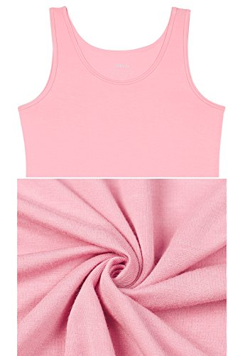 a5d202be4e4bb Vislivin Womens Supersoft Camisole Stretch Casual Tank Tops Black White Pink  L