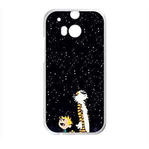 Dark night star boy and tiger Cell Phone Case for HTC One M8