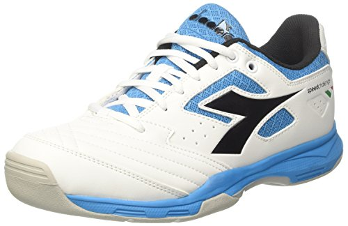 Nero Diadora White Bianco S C6016 Tennis Carpet Men Blu Challenge Fluo 2 Shoes wzxfqgaUwn