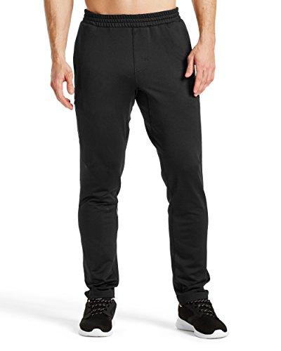 Mission Men's VaporActive Atmosphere Jogger Pants, Moonless Night, Medium