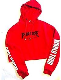 Justin Bieber Junior Sweatshirt Size XS. Purpose World Tour New No Tags