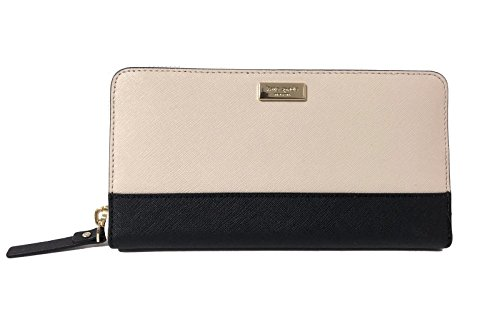 Kate Spade New York Newbury Lane Neda Leather Wallet,stfporblack,large
