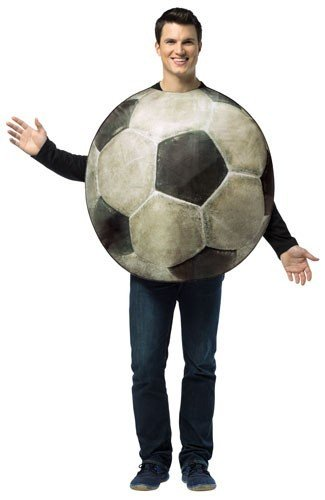 Rasta Imposta Get Real Soccer Ball, White/Black, One Size -