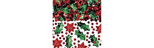 Christmas Botanical Metallic Foil Mix Confetti | Party Decoration -