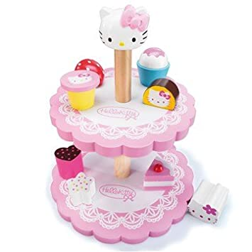 Hello Kitty birthday party cake toy Amazoncouk Toys Games