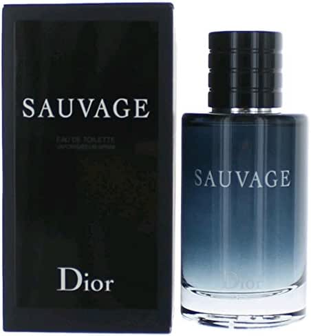 Sauvage by Chrisitan Dior Eau de Toilette Spray for Men, 3.4 Ounce