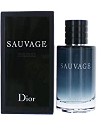 Sauvage by Christian Dior Eau de Toilette Spray for Men, 3.4 Ounce