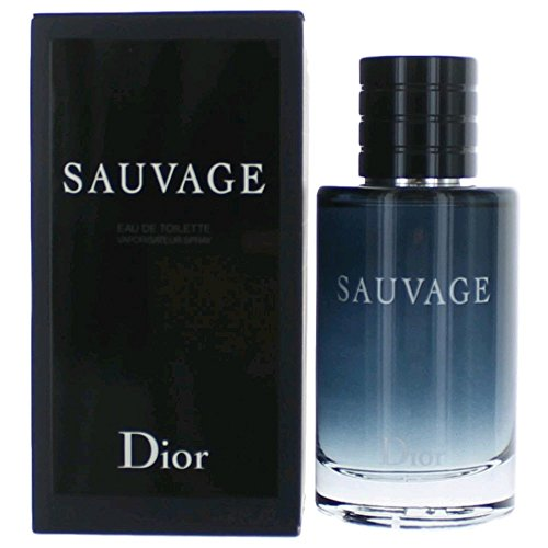Sauvage by Chrisitan Dior Eau de Toilette Spray for Men, 3.4 ()