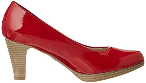Marco Tozzi 22409, Zapatos de Tacón para Mujer Rojo (Chili Patent 520)