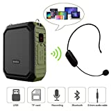 Voice Amplifier with Wired Headset Microphone 18W