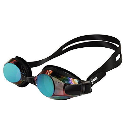 Anti fog Mirrored Swimming Goggles Protection