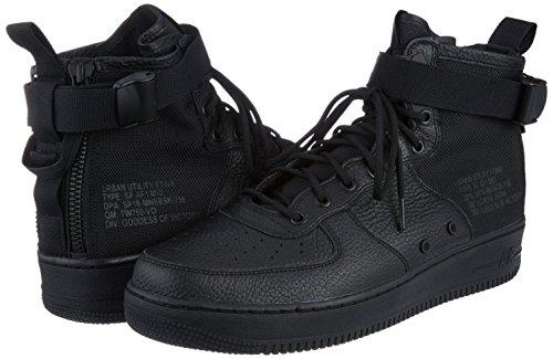 1 Sf Homme Gymnastique Noir 005 Nike Air noir Force Pour De Mid Chaussures HdtzqW