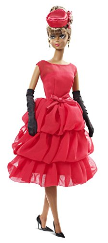 Barbie Collector BFMC, Red Dress African-American Doll