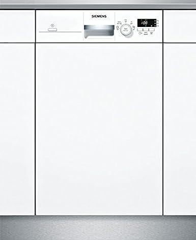 Siemens iQ100 SR515W03CE lavavajilla Semi-incorporado 9 cubiertos ...