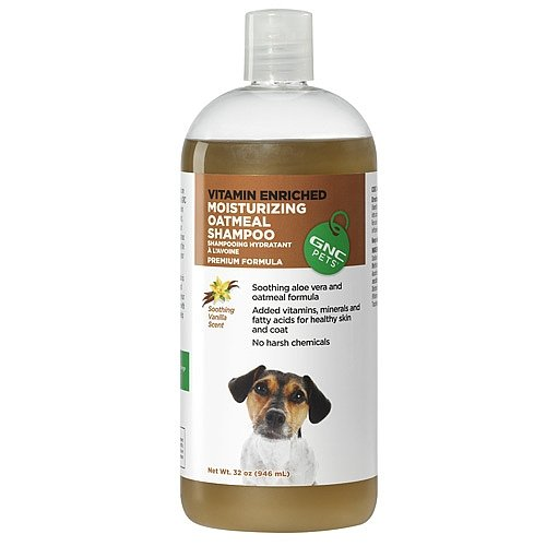 GNC Pets Moisturizing Oatmeal Shampoo - Vanilla Scented 32 oz. by GNC (Image #1)