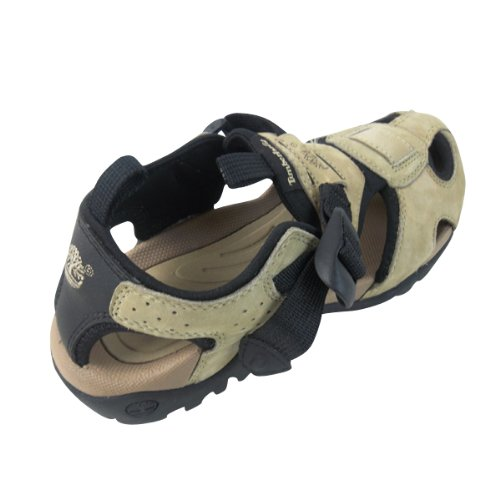 sports shoes 86c39 20daf Mens Timberland Beige Stone Del Fuego Designer Hiking Sandals Shoes Size UK  8.5  Amazon.co.uk  Shoes   Bags