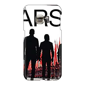 Anti-Scratch Hard Phone Cover For Samsung Galaxy S6 With Allow Personal Design Beautiful 30 Seconds To Mars Band 3STM Pattern EricHowe