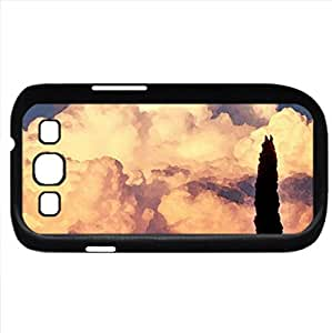 Evening Thunderstorm (Sunsets Series) Watercolor style - Case Cover For Samsung Galaxy S3 i9300 (Black)