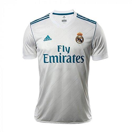 新しい。Real MadridホワイトJersey 2017 – 18サイズ2 x l B07B7C3VFN