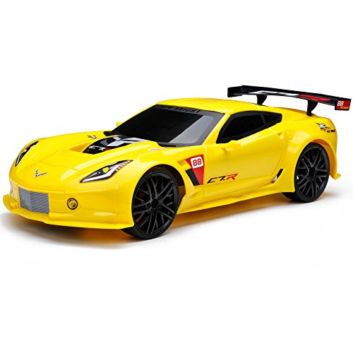 Night Fury Costumes Ideas (Full Function Remote Control 2.4GHz Technology Yellow Corvette C7R Sports Car)