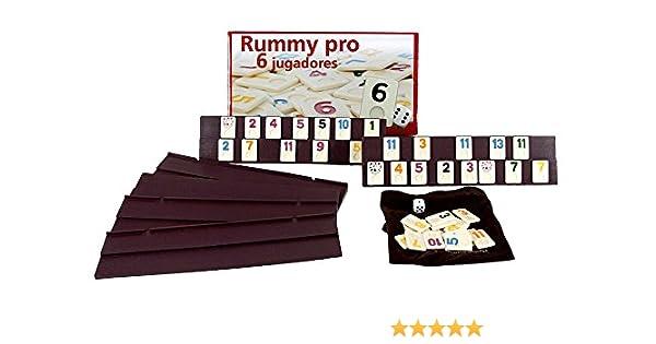 Outletdelocio Juego Rummikub 6 Jugadores. 106 fichas de plastico Macizo: Amazon.es: Juguetes y juegos