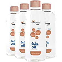 Mountain Falls Baby Oil, Shea Butter, Compare to Johnson's, 14 Fluid Ounce...