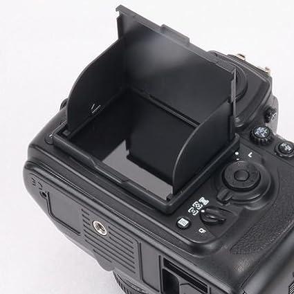 Protector de Pantalla y Parasol para Canon 5D Mk4 Transparente GGS Larmor 5/ª generaci/ón