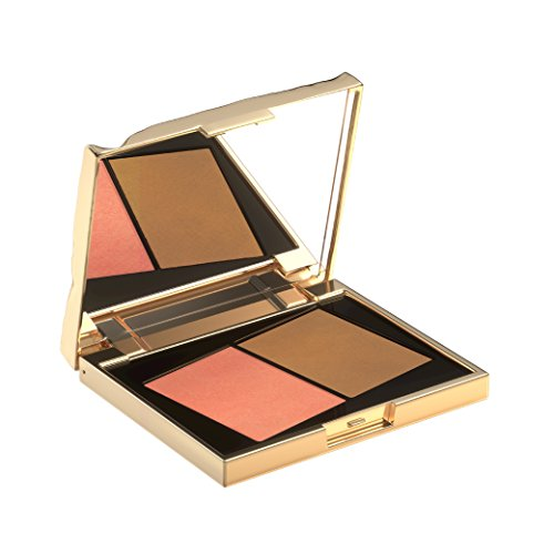 Smith & Cult Book Of Sun Blush Bronzer Poudre, Soft Peach & Golden Sand, 0.36 oz.