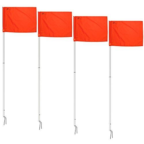 AGORA Portable Corner Flags - Set of ()