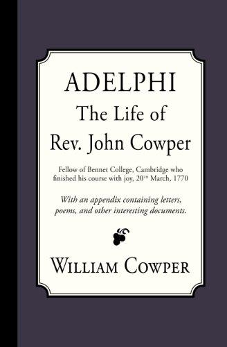 Adelphi: The Life of Rev. John Cowper