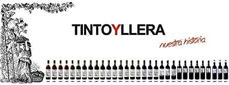 Yllera | Vino Tinto Crianza Yllera 12 Meses en Barrica | Tempranillo | 75 cl | IGP Vino de la Tierra Castilla y León | Afrutado | Carnoso y Persistente | Añada 2016 | Vino Español