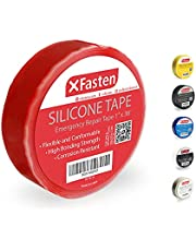 XFasten Silicone Self Fusing Tape 1-Inch x 36-Foot (Red) Silicone Repair Tape