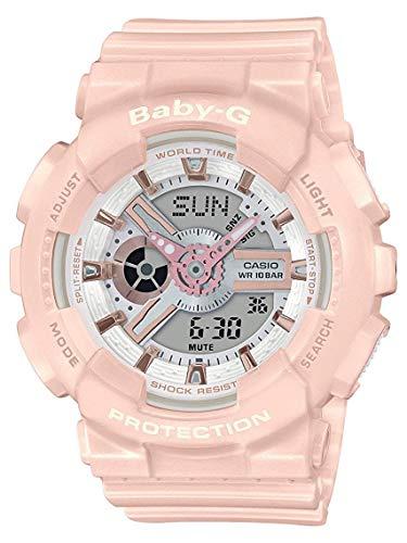 Casio BA110RG-4A Baby-G Women's Watch Pastel Pink 43.4mm Resin