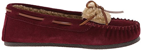 Moccasins Slip Moccasin Frauen Berry On Clarks Loafer qFf0axnwXX