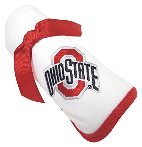 Ohio State Buckeye Baby Receiving Blanket