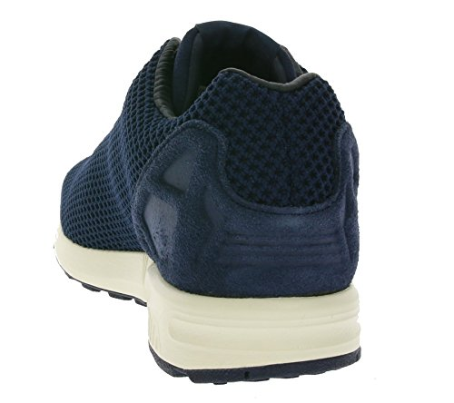 noir Femme Zx Originals Adidas Baskets Flux Mode Bleu wUf70qO