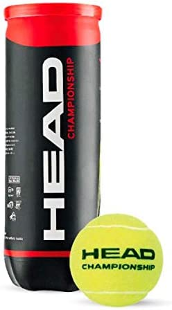 56cbc237671d4 Buy HEAD Championship Tennis Ball Can (Pack of 3) Online at Low Prices in  India - Amazon.in