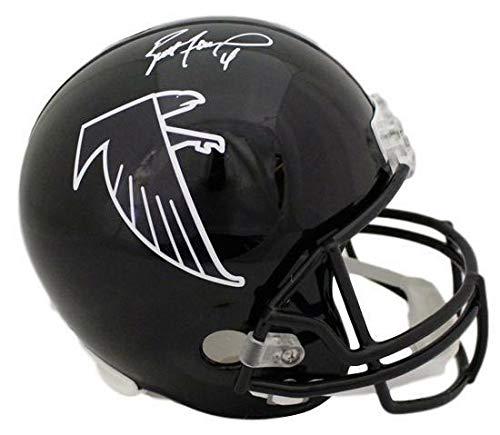 Brett Favre Autographed/Signed Atlanta Falcons Replica Helmet