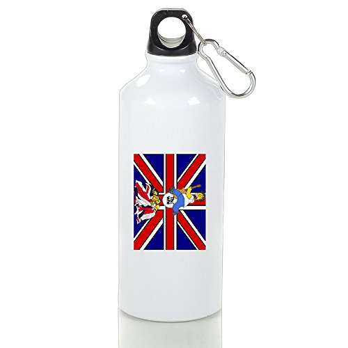 VOLTE THE WHO English Rock Band Cartoon Aluminum Outdoor Sports Cup Perfect For Gym (Brain Gym Cd)