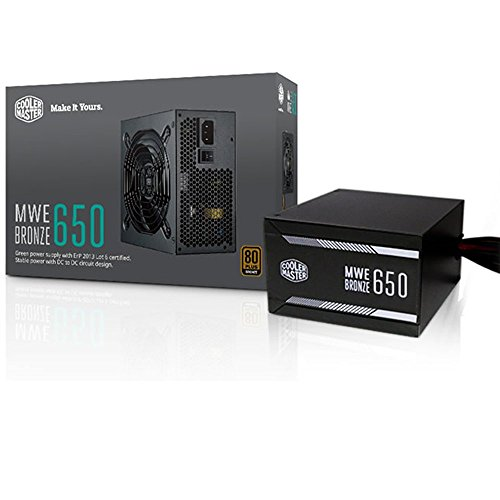 cooler master power supply 600w - 8