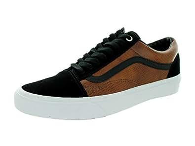 vans old skool black and brown