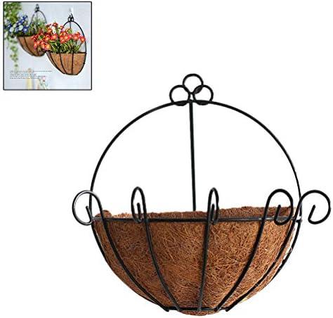 Daxoon Nordischen Stil Halbrunder Hängender Blumentopf Wand Blumenampel Garten Töpfe Dekor