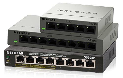NETGEAR Gigabit Ethernet Unmanaged 4xPoE
