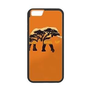 iPhone 6 Plus 5.5 Inch Cell Phone Case Black SAFARI Q1N6YZ