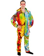 Forever Lazy Unisex Non-Footed Adult Onesie One-Piece Pajamas