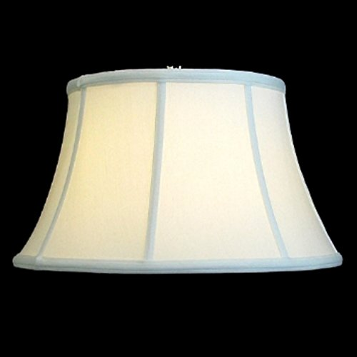 Upgradelights Eggshell 12 Inch Empire Style Washer Lampshade